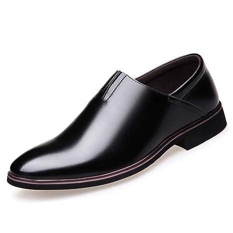 PiXie W Zapatos Formales para Hombres Mocasines y Mocasines ...