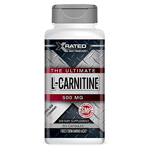 Chromium L-carnitine (Xrated Body Engineering L-Carnitine 500 mg (60 caps))