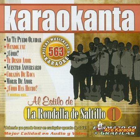 Karaokanta KAR-4563 - Rondalla de Saltillo 1 Spanish CDG