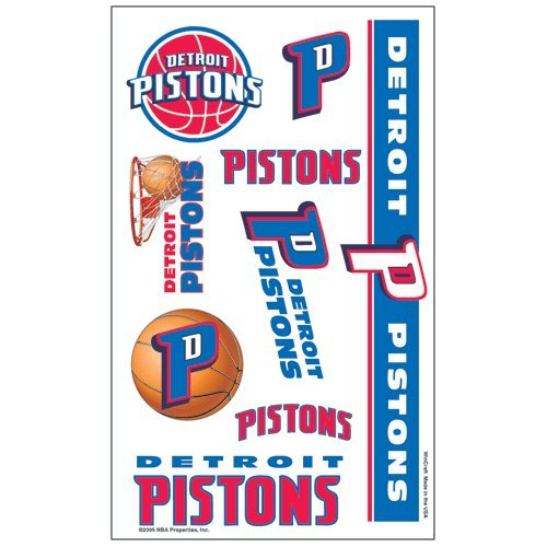 Detroit Pistons Temporary Tattoos