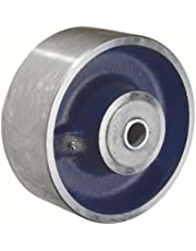 RWM Casters Steel Wheel with Roller Bearing 5000 lbs Capacity