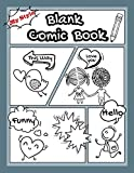 My Style  |  Blank Comic Book: Keep Your Own
