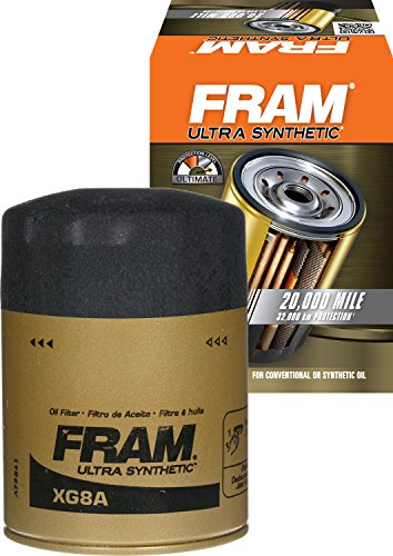 FRAM XG8A Ultra Synthetic Spin-On Oil Filter with SureGrip ()