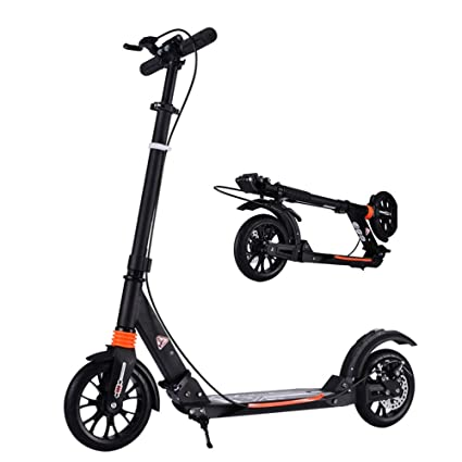 Patinetes Scooter para Adultos Plegable con Frenos De Disco ...