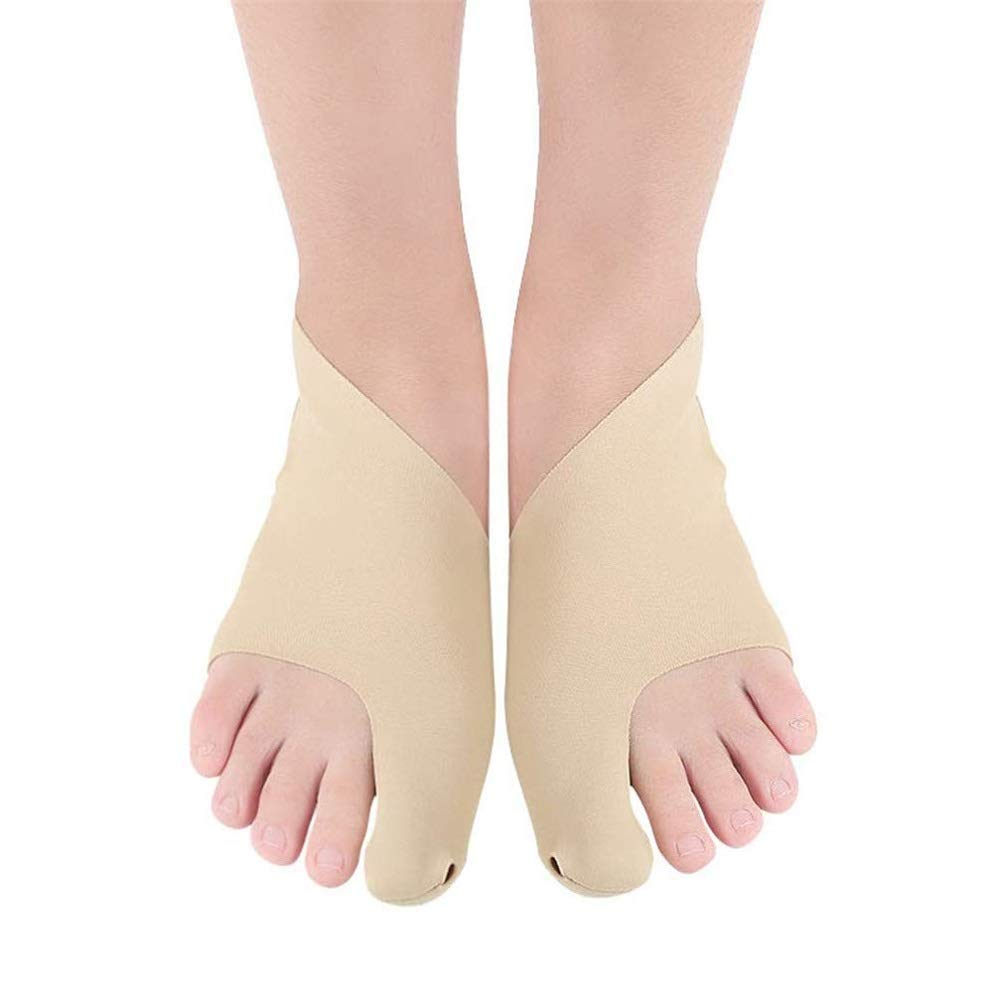 4Pcs/2Pair Bunion Corrector, Ultra-Thin Hallux Valgus Relief Splint Brace Protector Hammer Toe Support Sleeves Metatarsal Pads Spacers Feet by TOGARR