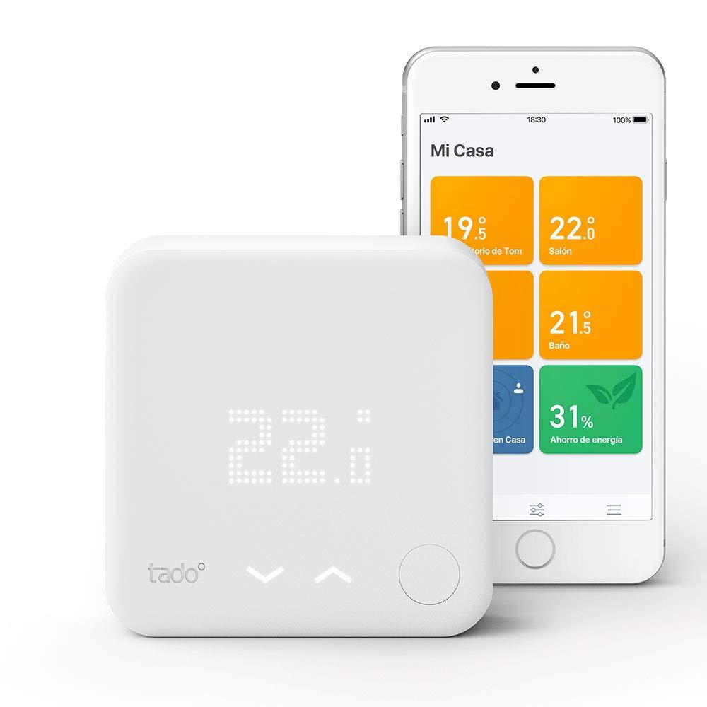 Tado Termostato Inteligente Kit de inicio V3+, Blanco