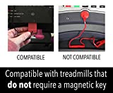 Impresa Products Replacement Treadmill Safety Key - Fits Many Models Including Weslo, Proform/Pro-Form, Nordictrack, Lifestyler, Horizon, Healthrider, iFit and More - Comparable to 119038 and 119039