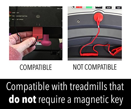 Impresa Products Replacement Treadmill Safety Key Fits
