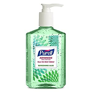 Purell 9674-06-ECDECO Advanced Design Series Hand Sanitizer, 8 oz Bottles