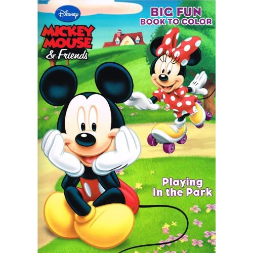 new Mickey Mouse Coloring Book Set (4 Books, Assorted Titles ...