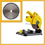 TOOLSCENTRE 180Mm 7' 1200W Power Metal/Steel Cutting Mini Portable Chop Saw/Cut Off Saw Electric Mini Cut Off Machine