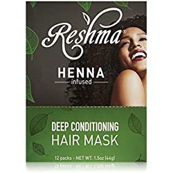 Reshma Beauty Deep Conditioning Hair Mask, 12 Count