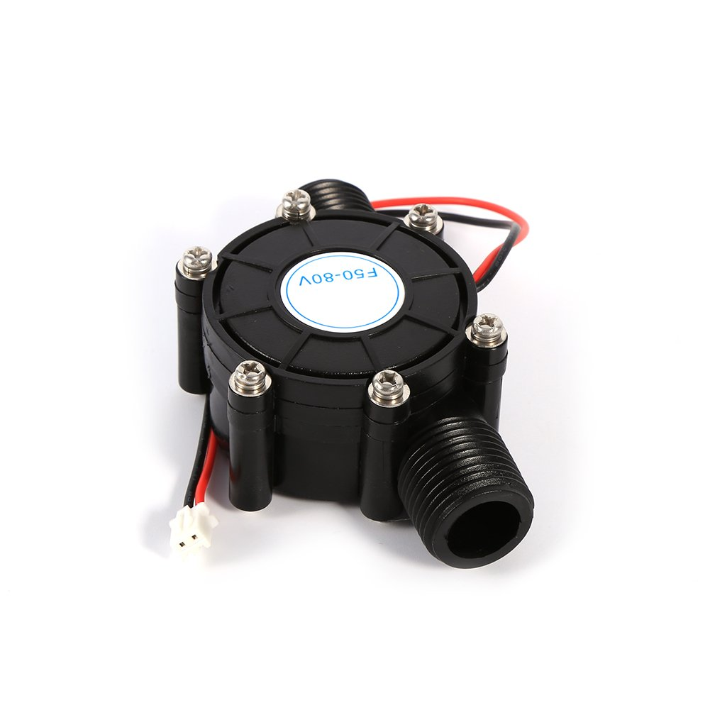 10W Water Turbine Generator Micro Hydroelectric Power Generator DIY LED Power Charging Tool DC 0-80V by Yosoo (Image #3)