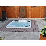 outdoor whirlpool hot tub troja spa jakuzzi farbe blau elektronik. Black Bedroom Furniture Sets. Home Design Ideas