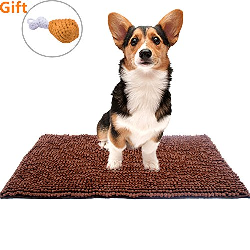 Non Slip Pads Dogs (Dog Mat Dirty Absorbent Rugs - Dog Doormat 30