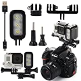 XCSOURCE Waterproof Spot LED Flash Light For Gopro Hero 4 Session 3+ Camera xiaomi OS431