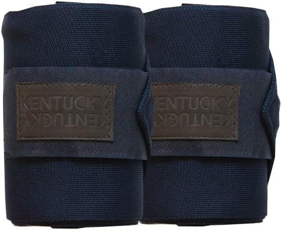 Marine Kentucky Horsewear Bandagen 2er Set Schmutzabweisend Farbe