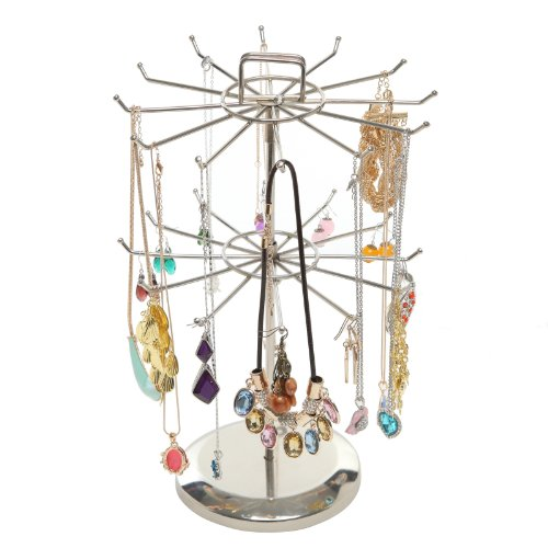 MyGift Rotating Organizer Necklace Bracelet