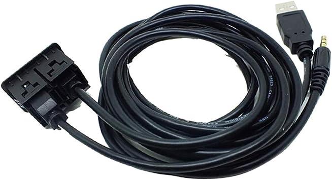 3 5mm Usb Aux Einbau Buchse Klinke Cinch Adapter Kabel Elektronik
