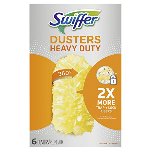 (Swiffer 360 Dusters Heavy Duty Refills, 6 Count (Packaging May Vary))