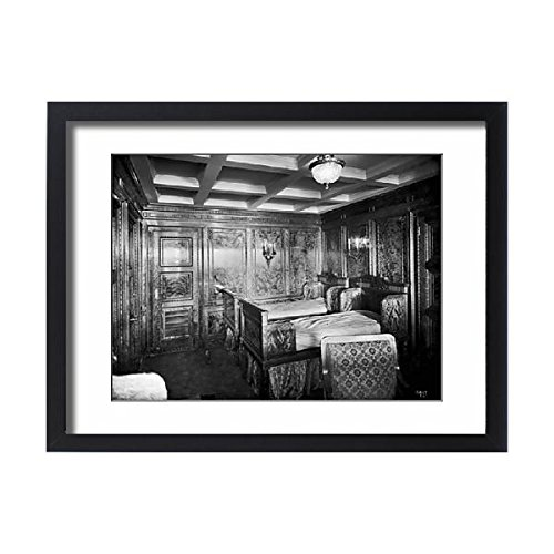 Framed 24x18 Print of Harland a Wolff Collection - National Museums NI (14391577) (Collection Bracket Wall Renaissance)