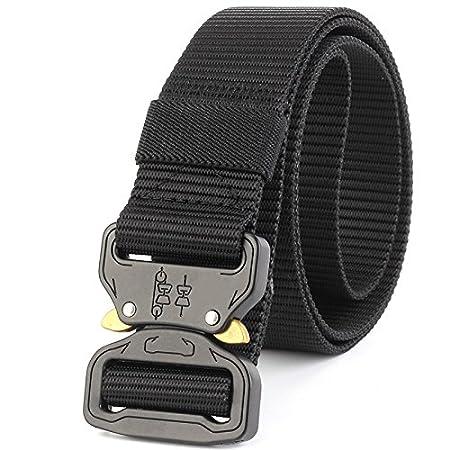 Wenquan,Cinturón táctico Cinturón Pesado Cinturón de Nylon ...