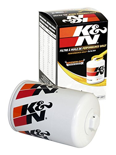 K&N HP-3001 Performance Wrench-Off Oil Filter