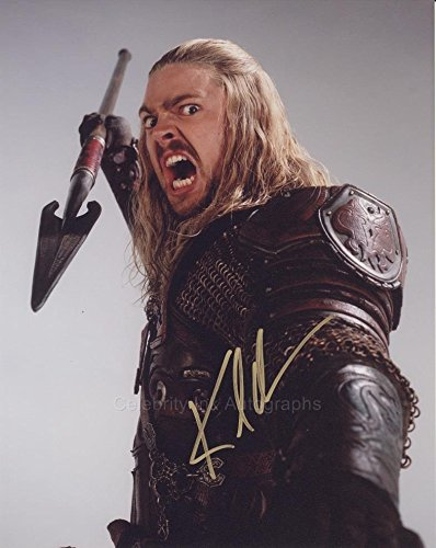 KARL URBAN as Eomer – Lord Of The Rings GENUINE AUTOGRAPH