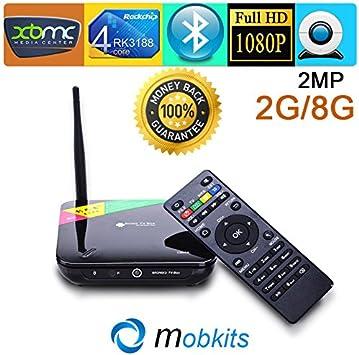 MU original CS968 Android TV Box Quad Core RK3188 IPTV Android 4.4 ...