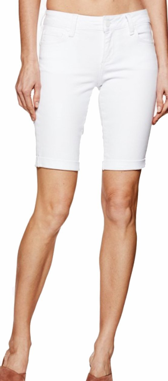 PAIGE Women's Short Jax Knee Short Crisp White 1798208 4520 (26)