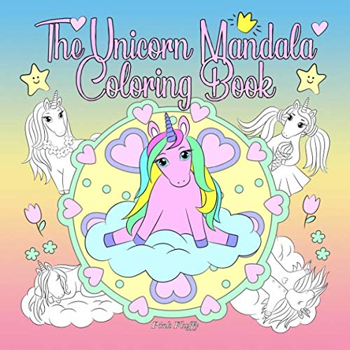 Halloween Cat Coloring Pages To Print (The Unicorn Mandala Coloring Book: A Coloring Book For Children And Adults To Love And)