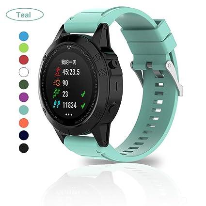 Bemodst Correa Strap para Reloj Garmin Fenix 5X/Fenix 5X Puls/Fenix 3/
