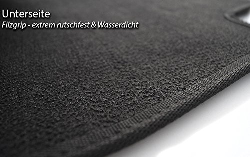 Tapis de sol BMW Série 3E36en velours noir