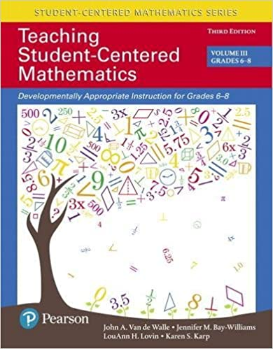 Amazon teaching student centered mathematics developmentally teaching student centered mathematics developmentally appropriate instruction for grades 6 8 volume iii 3rd edition 3rd edition fandeluxe Image collections