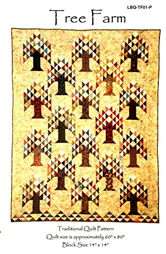 Tree Farm Quilt Pattern by Laundry Basket Quilts 50