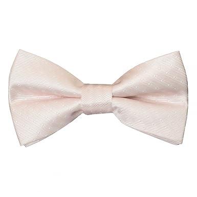 4a5840afec2b Pre Tied Blush Polka Dot Boys Bow Tie Age 4-7  Amazon.co.uk  Clothing