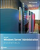 img - for Microsoft Windows Server Administration Essentials book / textbook / text book