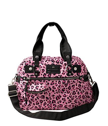 Koi Accessories Women's Cheetah Print Utility Bag Pink -
