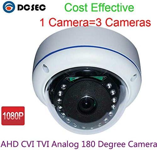 1080P HD 2.0MP AHD CAMERA 360 degree Panoramic CCTV Security FishEye NIGHT Dome