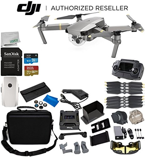 DJI-Mavic-Pro-Platinum-Collapsible-Quadcopter-1-Battery-Ultimate-Bundle