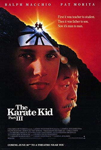 The Karate Kid: Part 3 - Movie Poster - 27 x 40