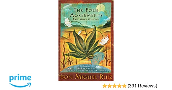 The Four Agreements Toltec Wisdom Collection 3 Book Boxed Set Don