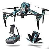 MightySkins Skin for DJI Inspire 2 – Rift | Protective, Durable, and Unique Vinyl Decal wrap Cover | Easy to Apply, Remove, and Change Styles | Made in The USA For Sale