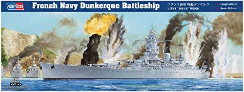 (Hobby Boss French Navy Dunkerque Battleship 1/350 Ship Model Kit )
