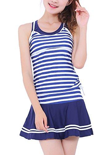 Fantastic Zone Striped Tankini Fashion