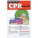 "CPR Safety Poster Laminated - 11""L x 17""H"