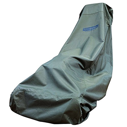 Hybrid Covers Premium Lawn Mower Cover - Heavy Duty 600D Fabric, Tear Resistant, Water Resistant & UV Protected Cover for Your Push Lawn Mower - Suits Heavy Duty Lawn Mowers Medium to Large Sizes - Premium Mower Lawn