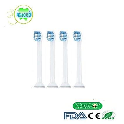 oral-q estándar de repuesto para cepillo de dientes Philips Sonicare ProResults Cabezales HX6084 Compatible