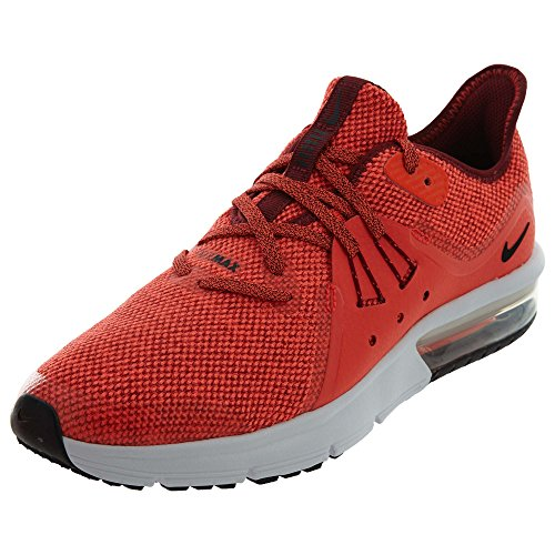 Uomo Max Sequent Scarpe 3 Red Total da Nike Team 600 GS Multicolore Black Corsa Air 5EAqxnR8