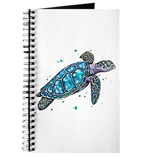 CafePress - Sea Turtle - Spiral Bound Journal Notebook, Personal Diary, Lined